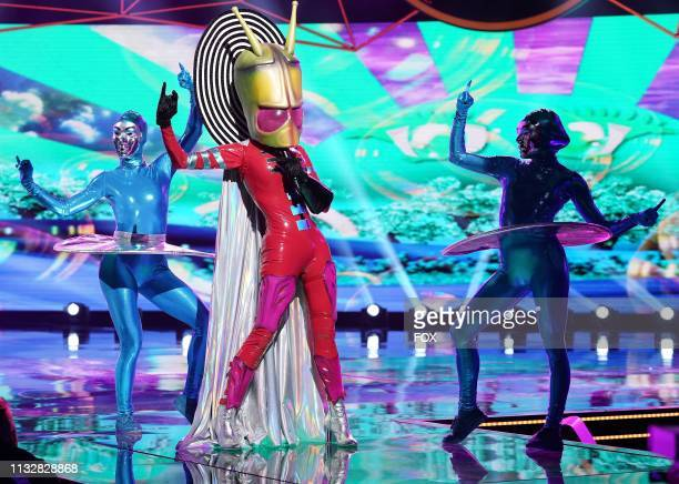 Alien in the Mix and Masks episode of THE MASKED SINGER airing Wednesday Jan 30 on FOX