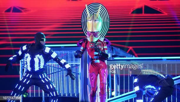 Alien in the New Masks on the Block episode of THE MASKED SINGER airing Wednesday Jan 9 on FOX
