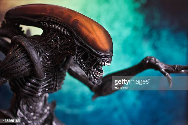 alien movie figure - february 10, 2010 - alien stock photos and pictures