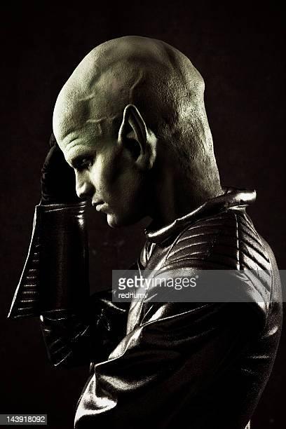 Alien retrato