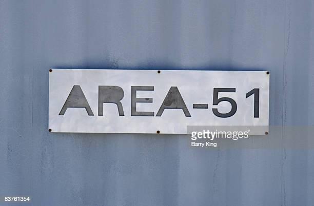 Alien Research Center on the Extraterrestrial Highway near Area 51 near Rachel Nevada