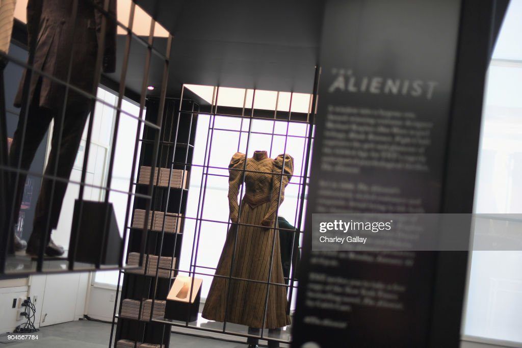 Alienist Costume Installation - LA at The Paley Center for Media on January 13, 2018 in Beverly Hills, California.27536_002