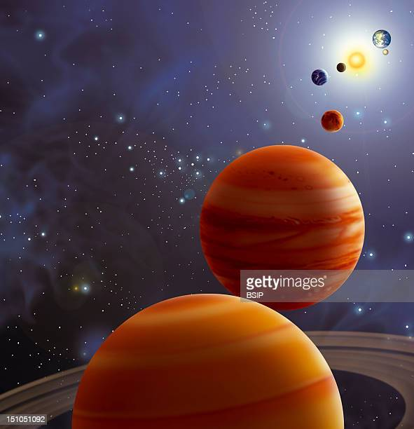 Alignment Of The Planets An Alignment Of The Planets Predicted By Astrologists For May 5 2000 On This Date Saturn Jupiter Mars Venus Mercury The Sun...