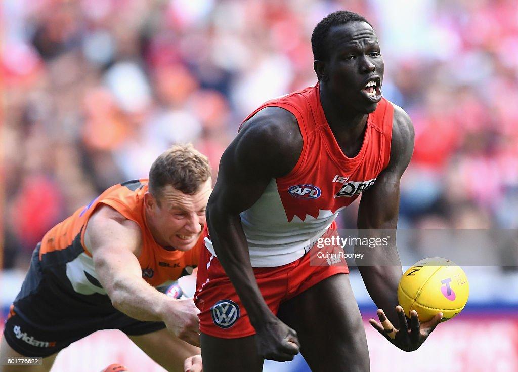 AFL First Qualifying Final - Sydney v GWS : News Photo