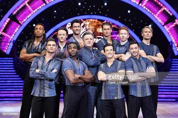 Alijaz Skorjanec Kevin Clifton Ore Oduba Gorka Marquez Ed Balls Danny Mac AJ Pritchard Neil Jones and Giovanni Pernice attend the photocall for the...