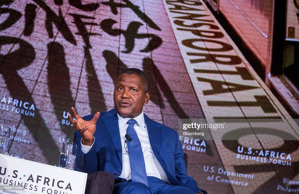 Key Speakers At The U.S.-Africa Business Forum : News Photo