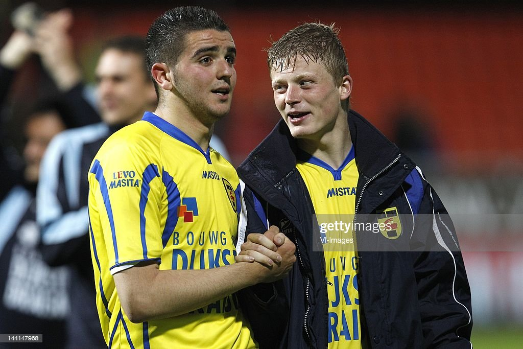 Alim Ozturk Of Sc Cambuur And Bob Schepers Of Sc Cambuur During The News Photo Getty Images