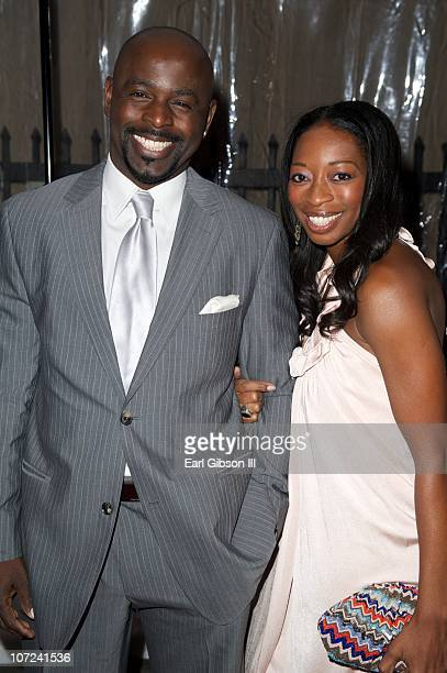 Alimi and Dawn Ballard attend the 10th Annual Heroes In The Struggle Gala Concert on December 1 2010 in Hollywood California