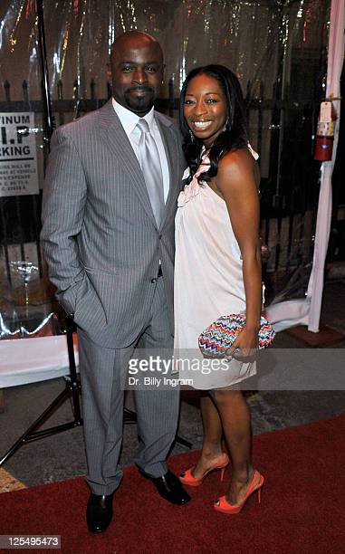 Alimi Ballard and Dawn Ballard attend the 10th Annual Heroes in the Struggle Gala at the Avalon on December 1 2010 in Hollywood California