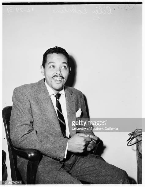 Alimony and divorce 24 December 1951 Billy Eckstine
