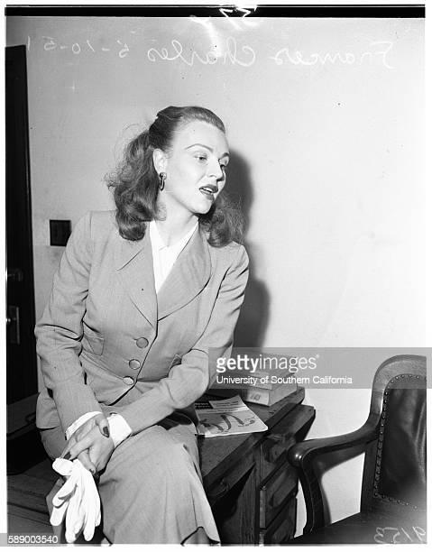 Alimony Frances Charles May 10 1951