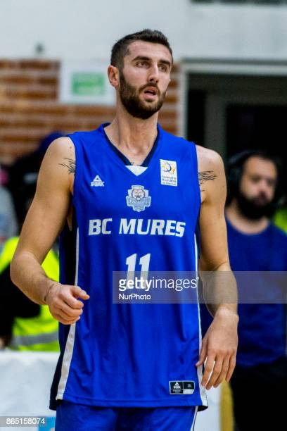 Alin Borsa during the LNBM Men's National Basketball League game between CSM Steaua Bucharest and BC Mures TarguMures at Sala Regimentul de Garda...