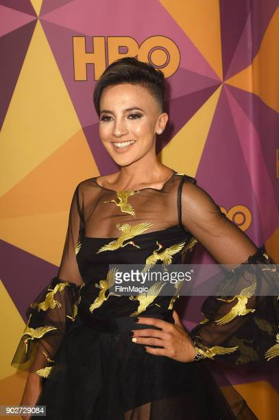 Alin Sumarwata attends HBO's Official 2018 Golden Globe Awards After Party on January 7 2018 in Los Angeles California