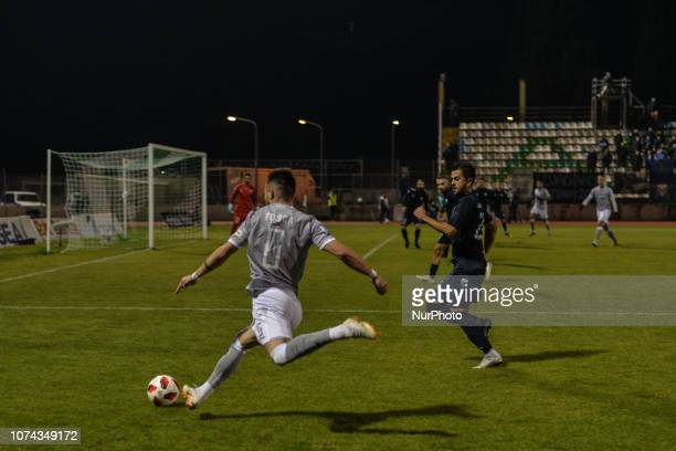 Alin Toca of PAOK in action during Greece Super League Football match between APO Levadeiakos and PAOK Thessaloniki in Levadia Municipal Stadium on...