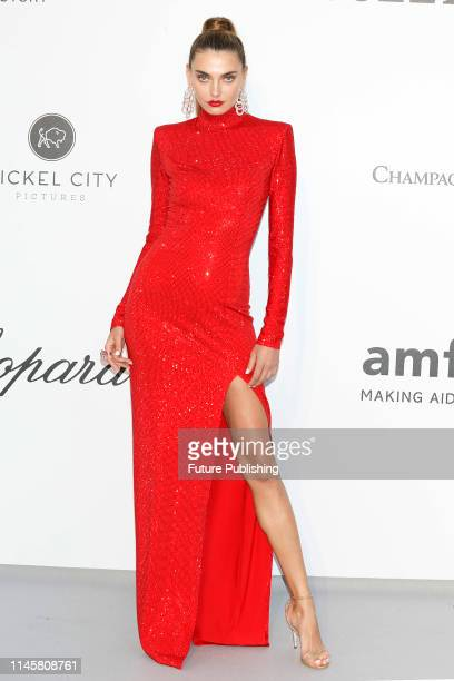Alina Baikova at the amfAR Cannes Gala 2019 at Hotel du CapEdenRoc on May 23 2019 in Cap d'Antibes France