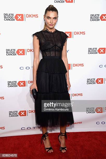 Alina Baikova attends the 10th Annual Delete Blood Cancer DKMS Gala at Cipriani Wall Street on May 5 2016 in New York City