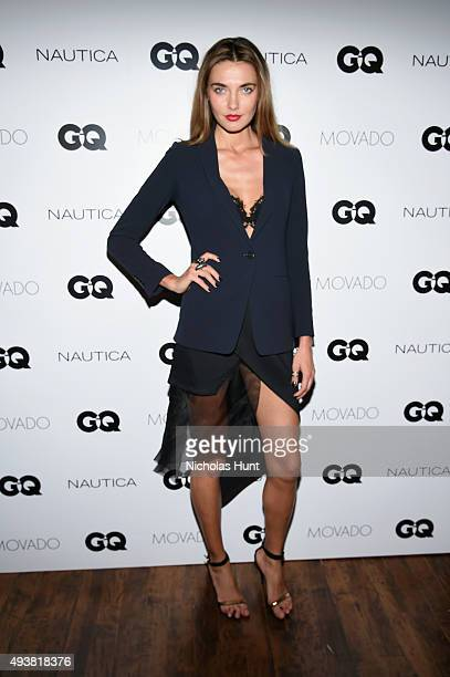 Alina Baikova attends the GQ Gentlemen's Fund cocktail reception awards ceremony at The Gent on October 22 2015 in New York City
