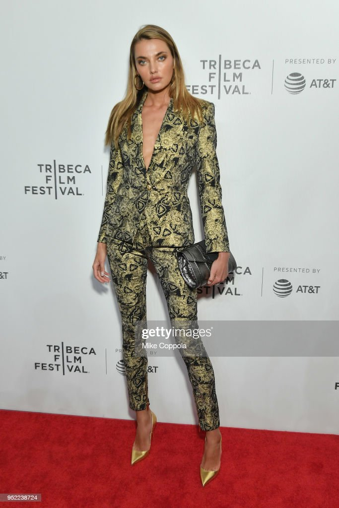 Alina Baikova attends the screening of 'The American Meme' during the 2018 Tribeca Film Festival at Spring Studios on April 27, 2018 in New York City.