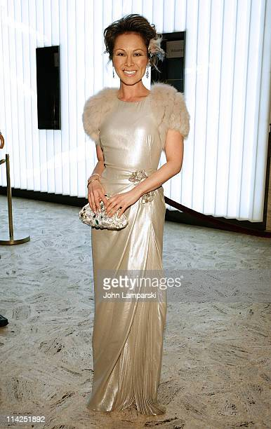 Alina Cho attends Literacy Partners' 27th annual Evening of Readings gala at David H Koch Theater Lincoln Center on May 16 2011 in New York City