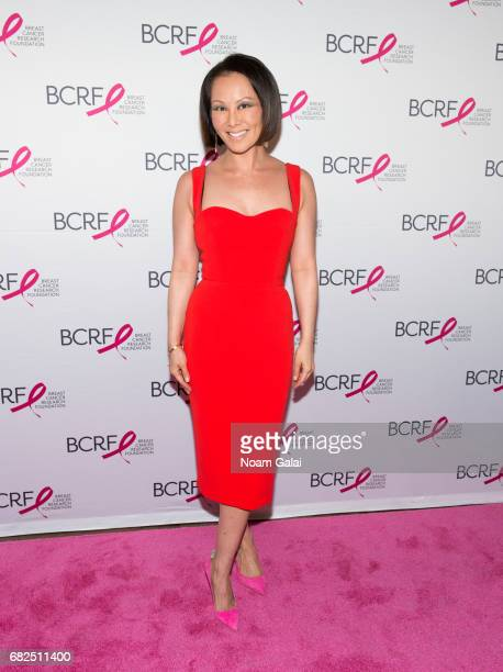 Alina Cho attends the 2017 Breast Cancer Research Foundation Hot Pink Party at Park Avenue Armory on May 12 2017 in New York City