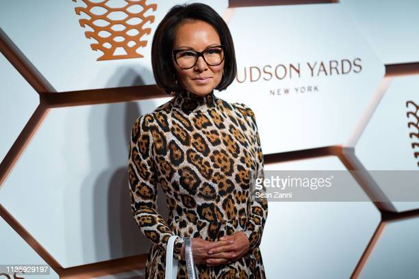 Alina Cho attends the Hudson Yards Grand Opening Party at Hudson Yards on March 14 2019 in New York City