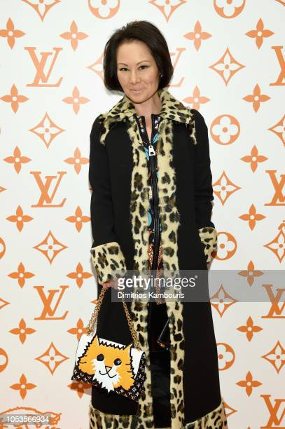 Alina Cho attends the Louis Vuitton X Grace Coddington Event on October 25 2018 in New York City