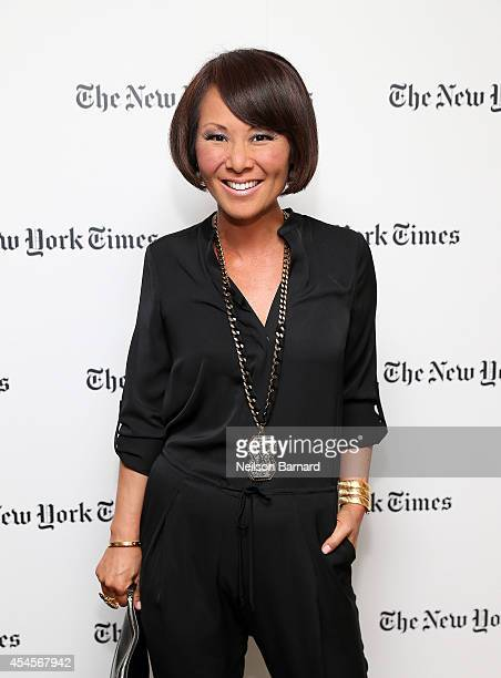 Alina Cho attends the New York Times Vanessa Friedman and Alexandra Jacobs welcome party on September 3 2014 in New York City