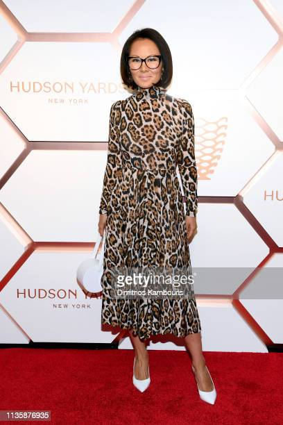 Alina Cho attends The Shops Restaurants at Hudson Yards Preview Celebration – Red Carpet Arrivals on March 14 2019 in New York City