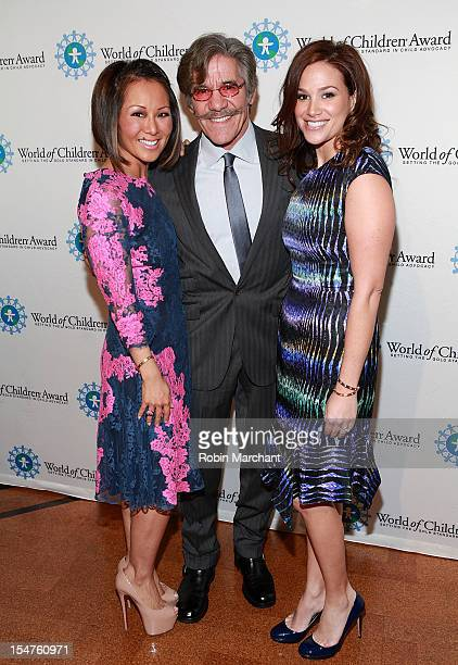 Alina Cho Geraldo Rivera and his wife Erica Levy attend 15th Annual World Of Children Awards Ceremony at 583 Park Avenue on October 25 2012 in New...