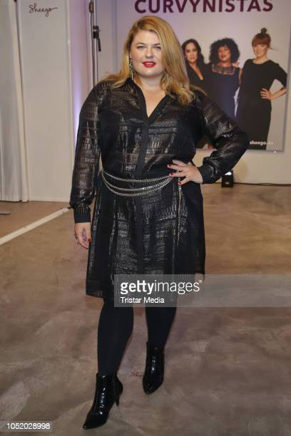 Alina during the Sheego Fashion Style Tour on October 11 2018 in Hamburg Germany