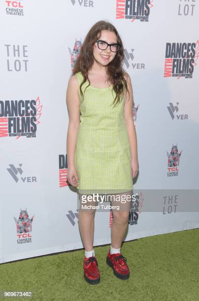Alina Foley attends the opening night of the 21st Annual Dances With Films Film Festival at TCL Chinese 6 Theatres on June 7 2018 in Hollywood...