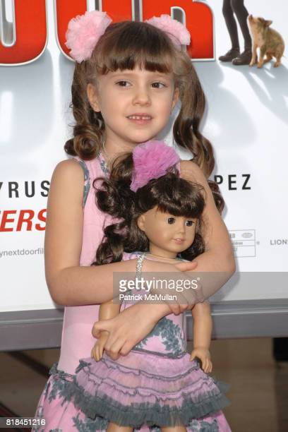 Alina Foley attends 'The Spy Next Door' Los Angeles Premiere at The Grove on January 9 2010 in Los Angeles California