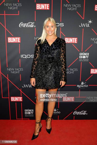 Alina Joerke attends the Bunte New Faces Night at Father Graham on July 01 2019 in Berlin Germany