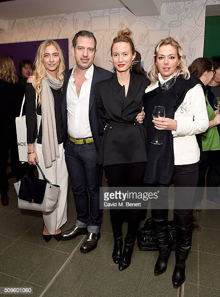 Alina Kohlem Alexander SC Rower Elan Rower and guest attend The Calder Prize 20052015 presented by Pace London And The Calder Foundation on February...