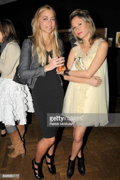 Alina Kohlem and Elan Gentry attend BOMB MAGAZINE's 28th Anniversary Gala Benefit and Silent Auction at The National Arts Club on April 17 2009 in...