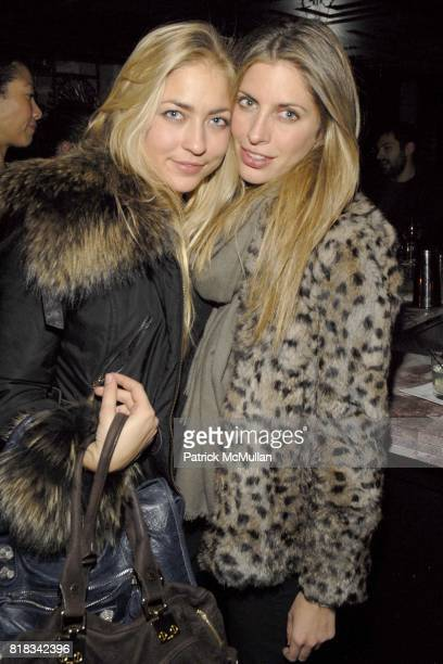 Alina Kohlem and Valerie Boster attend PRABAL GURUNG Fall 2010 Collection After Party at Kenmare on February 13 2010 in New York City
