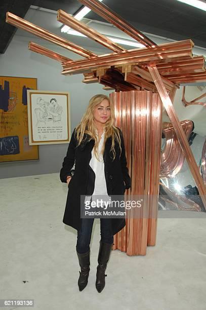 Alina Kohlem attends TONY SHAFRAZI GALLERY opening and AfterParty at Tony Shafrazi Gallery and Mr Chows Tribeca NYC on May 9 2008