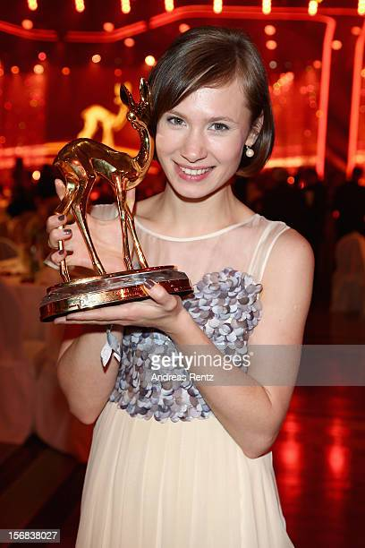 Alina Levshin attends 'BAMBI Awards 2012' at the Stadthalle Duesseldorf on November 22 2012 in Duesseldorf Germany
