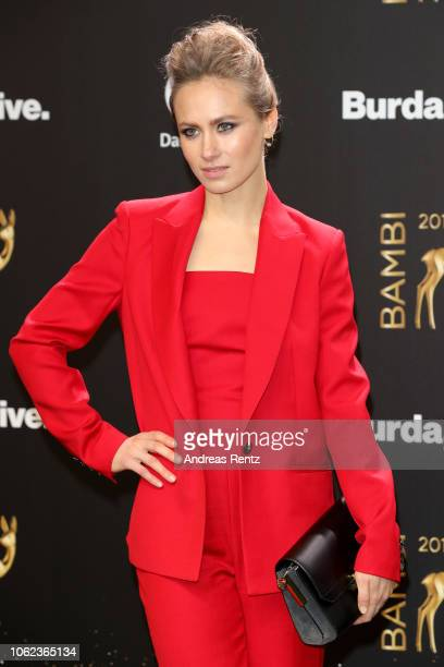 Alina Levshin attends the 70th Bambi Awards at Stage Theater on November 16 2018 in Berlin Germany