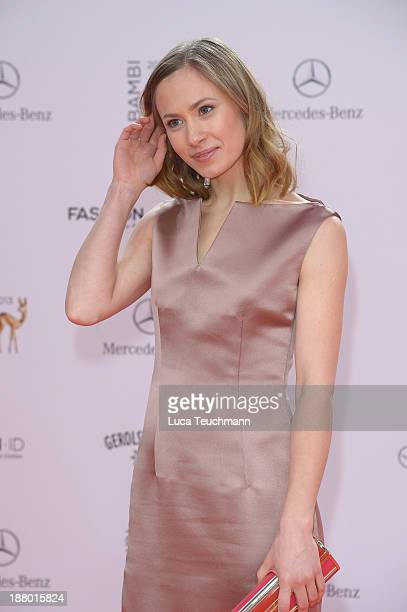 Alina Levshin attends the Bambi Awards 2013 at Stage Theater on November 14 2013 in Berlin Germany