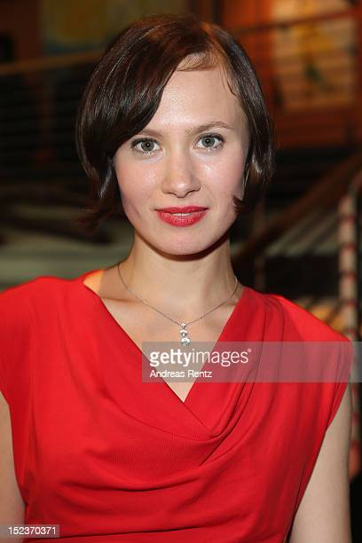 Alina Levshin attends the 'Goldene Henne' 2012 award after show party on September 19 2012 in Berlin Germany