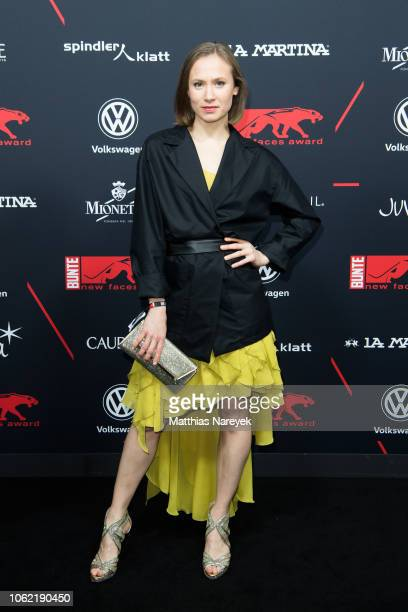 Alina Levshin attends the New Faces Award Style 2018 at Spindler Klatt on November 15 2018 in Berlin Germany