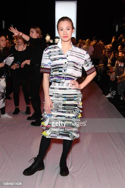 Alina Levshin attends the Rebekka Ruetz show during the Berlin Fashion Week Autumn/Winter 2019 at ewerk on January 16 2019 in Berlin Germany