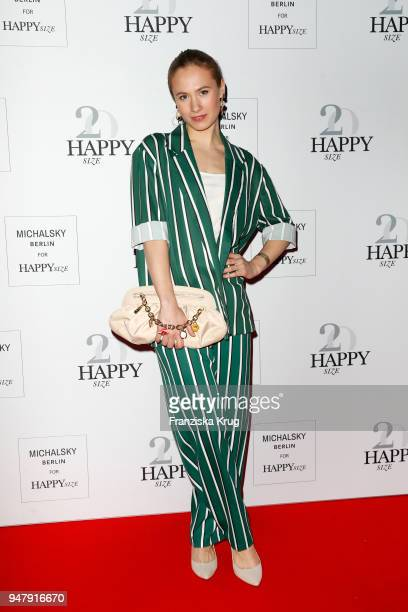 Alina Levshin during the Happy Size X Michalsky launch event on April 17 2018 in Hamburg Germany