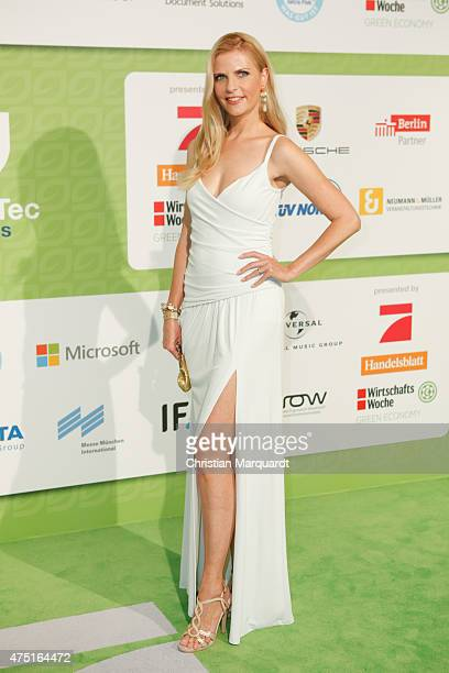 Alina Merkau attends the GreenTec Awards 2015 at Tempodrom on May 29 2015 in Berlin Germany