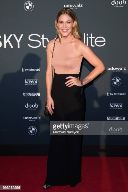Alina Merkau attends the Michalsky StyleNite during the Berlin Fashion Week Spring/Summer 2019 at Tempodrom on July 6 2018 in Berlin Germany