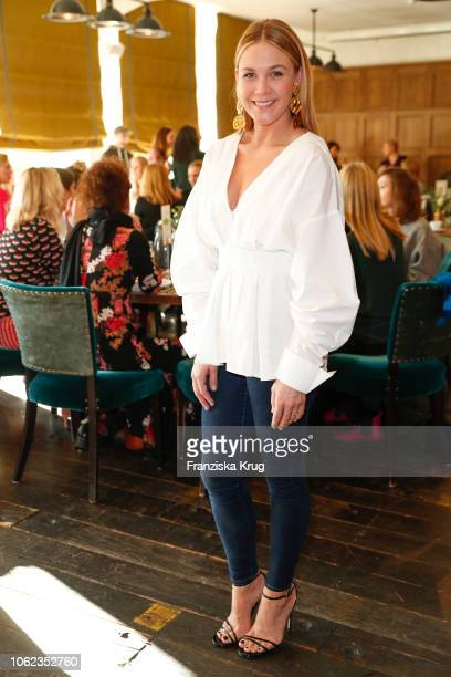 Alina Merkau during the Triumph event at Soho House on November 16 2018 in Berlin Germany