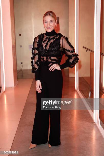 Alina Merkau during the Veuve Clicquot Bold Woman Award 2020 at French Embassy on March 5 2020 in Berlin Germany