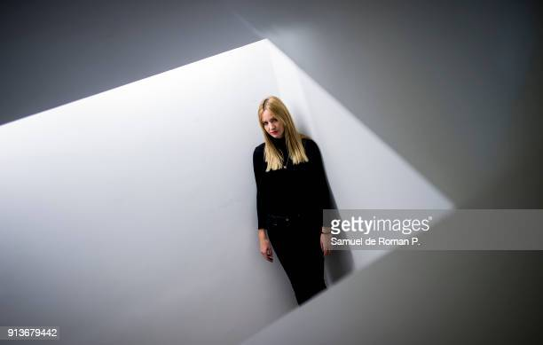 Alina Nastase Portrait Session in ABC Museum on February 1 2018 in Madrid Spain