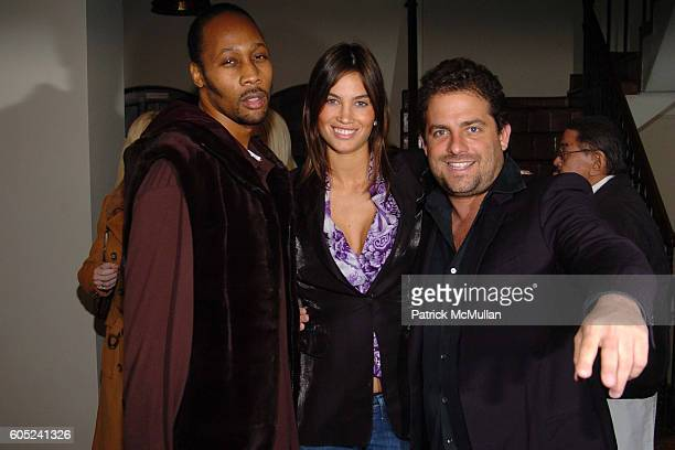RZA Alina Puscau and Brett Ratner attend HBO's Annual PreGolden Globes Party hosted by Colin Callender Chris Albrecht and Carolyn Strauss at Chateau...